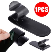 Mayitr-support de crochet pour parapluie   Noir, pour voiture/maison, 1 pièce, support de fixation à Clip, pour voiture