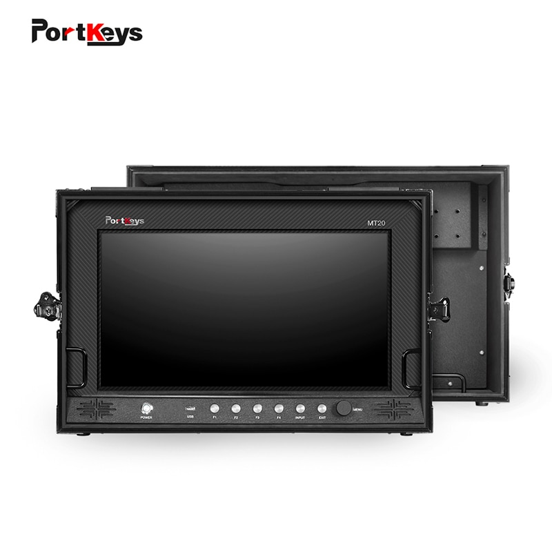 PortKeys MT20 19 5 дюйма HDMI/3G SDI полевой и студийный монитор камеры с жестким чехол 3D