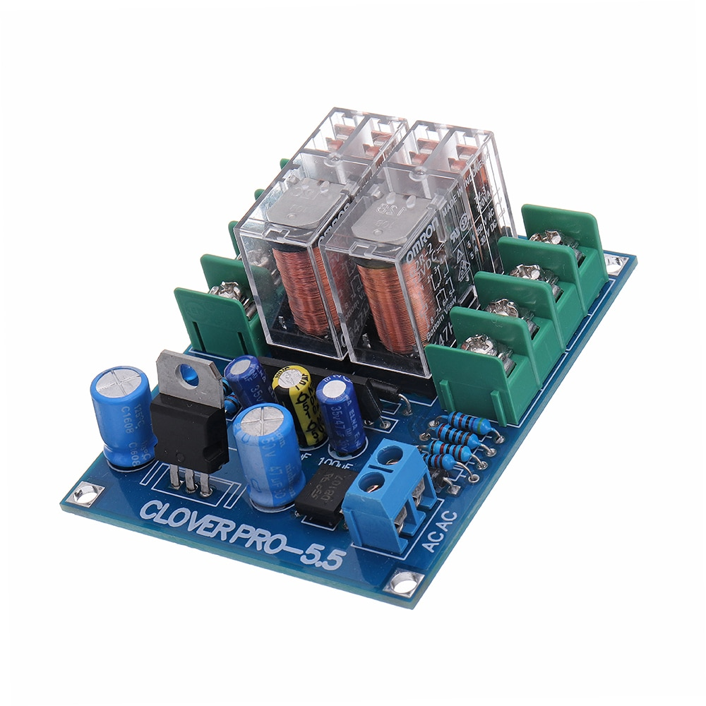 NIEUWE UPC1237 Speaker Bescherming Boord Dual Omron Relais Voor HIFI Versterker DIY Speaker Kit