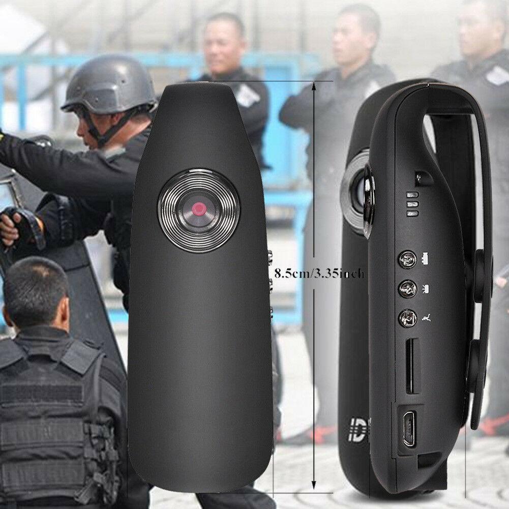 HD 1080P 130 grados Mini videocámara cámara de salpicadero Cuerpo de Policía motocicleta cámara de movimiento US PLUG soporte detección de movimiento r20