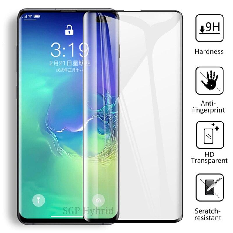9D изогнутое закаленное стекло для Samsung Galaxy S9 Plus, Защитное стекло для Galaxy S10 e S8 Plus S 10 9 8 Note 9 8 Sklo