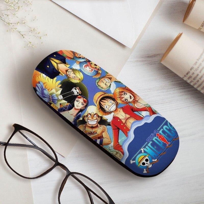 Funda para gafas de Anime Fate Lovelive One Piece SAO Cosplay Natsume Yuujinchou, estuche para gafas