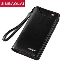 Card Holder High Quality Design Coin Purse PU Leather Wallet Men Long Passport Cover Fashion Casual