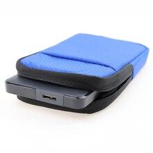 Universel 2.5 'Super EVA antichoc eau/poussière/anti-rayures disque dur externe étui de transport téléphone portable pochette sac protecteur