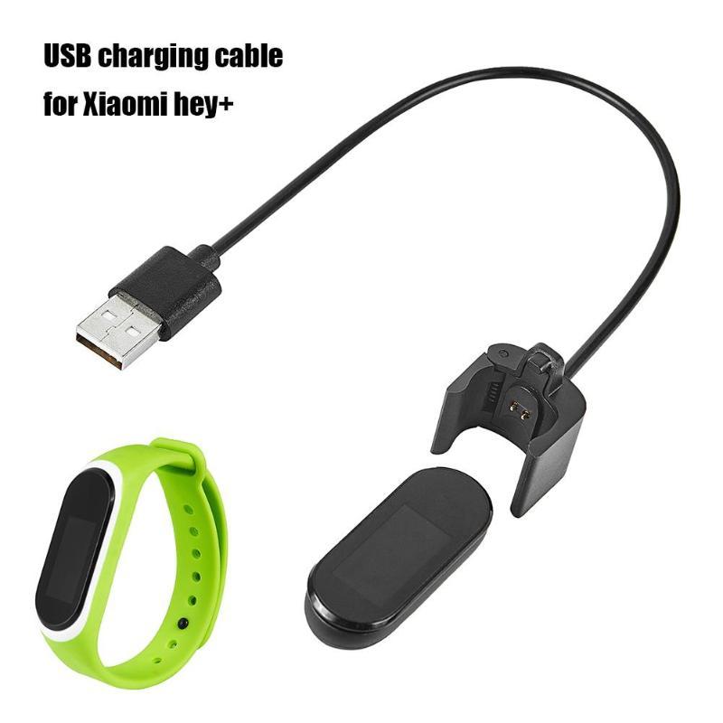 Cable de carga USB cargador para reloj inteligente 25cm Cable de carga para Xiaomi Hey Plus piezas de reemplazo de banda inteligente