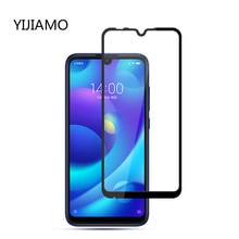 3D Full Display Cover Screen Protector For Xiaomi Mi Play Tempered Glass 9H Explosion-proof Protecti