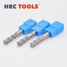 A20-d6x25Hx6Dx75L HRC45 Carbide Straight Shank Aluminum Endmills 3Flutes Standard Long CNC End Mill