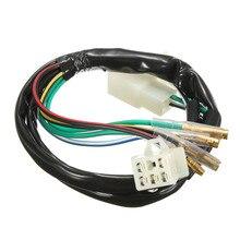 1 ensemble de harnais de câblage électrique de moto pour 50cc 90cc 110cc 125cc 140cc Pit Dirt Bike Quad