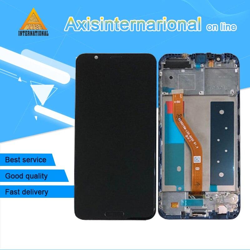 Original Axisinternational For Huawei Honor V10 Honor View 10 Bkl-Al20 Lcd Screen Display Touch Digitizer Frame Fingerprint