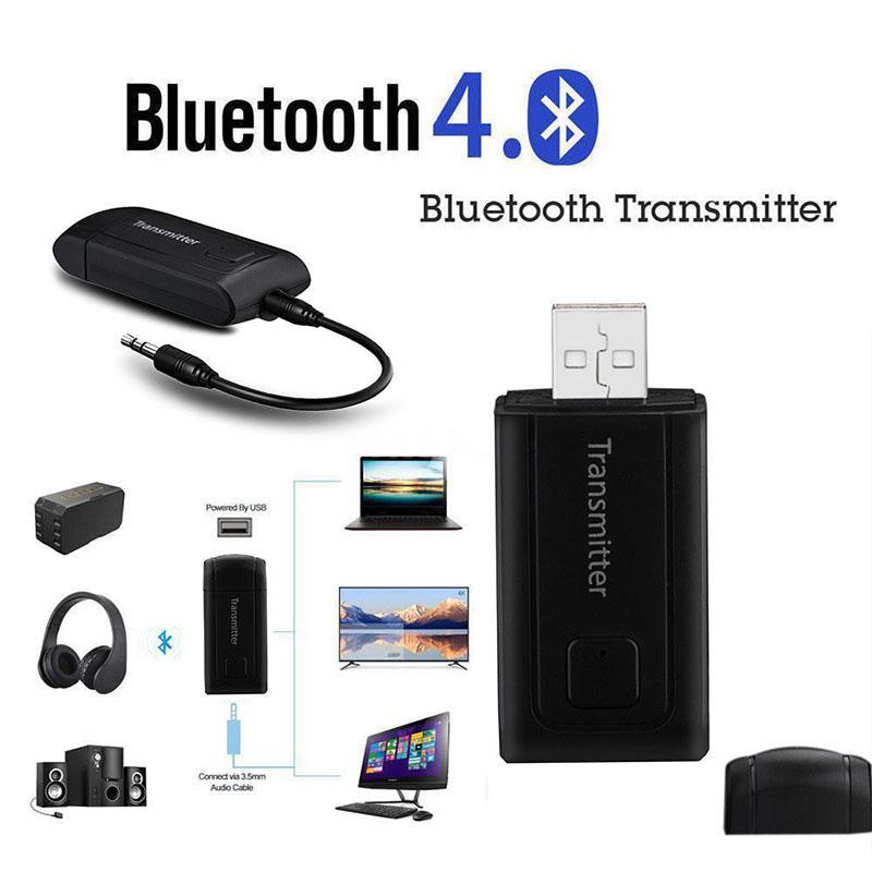 EastVita Bluetooth V4.0 Sender Drahtlose A2DP 3,5mm Stereo Audio Musik Adapter für TV Telefon PC Kopfhörer MP3 MP4