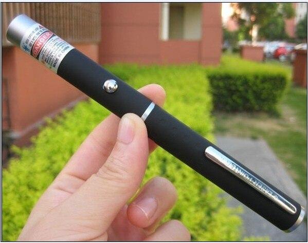 1 Uds. 5w 5000mw 532nm pluma láser verde puntero láser potente puntero láser remoto caza láser perforador sin batería