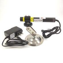 16*120 24VDC 650nm 100mW Module Laser à Diode rouge ligne de cheveux croisée focalisable avec adaptateur et support