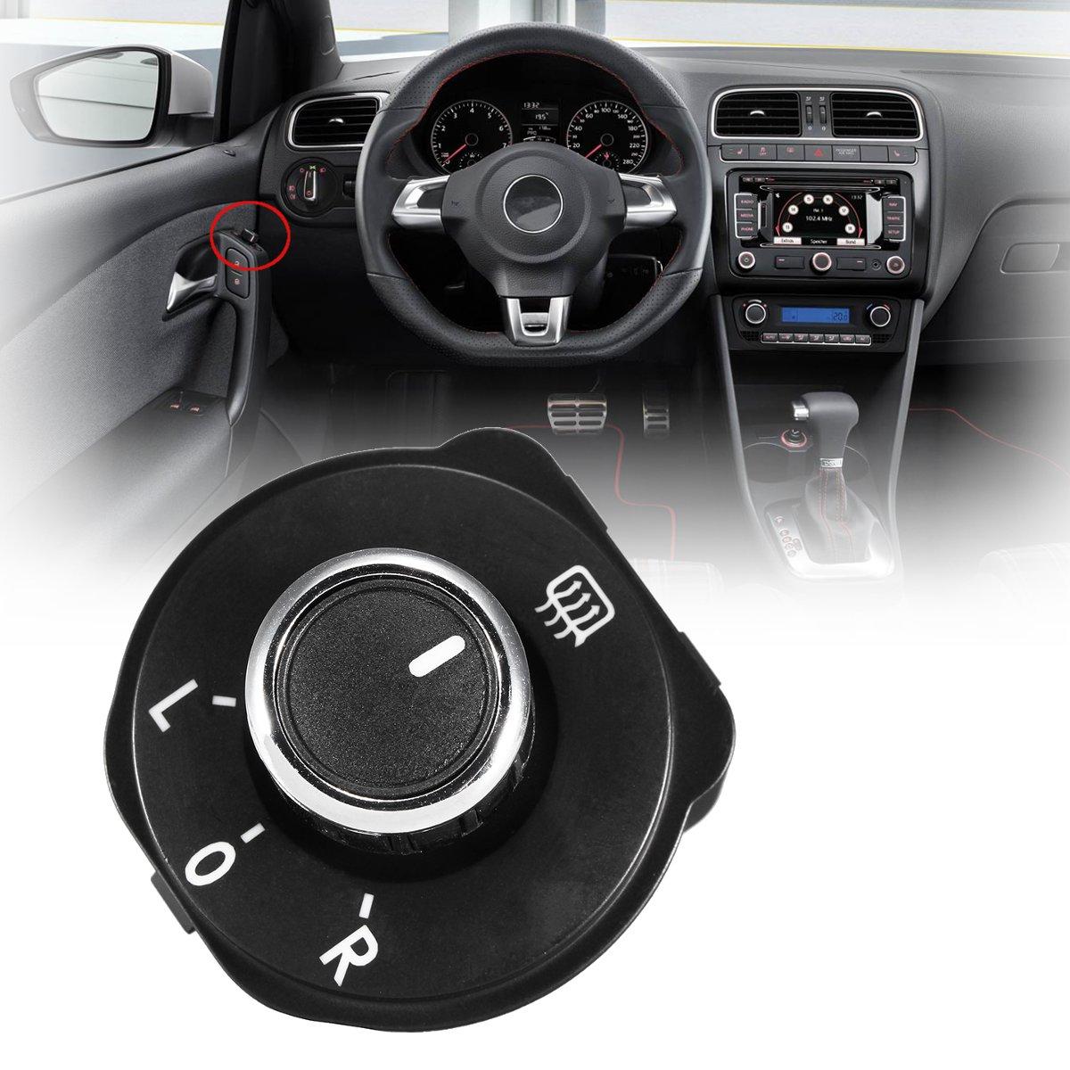 6RD959565B Auto espejo retrovisor ajuste botón interruptor para VW para Volkswagen Polo 6R 2011 2012 2013 2014 2015 2016