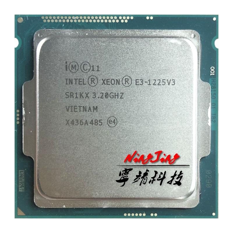 Intel Xeon E3-1225 v3 E3 1225v3 E3 1225 v3 3,2 GHz Quad-Core Quad-Thread CPU Processor 8M 84W LGA 1150