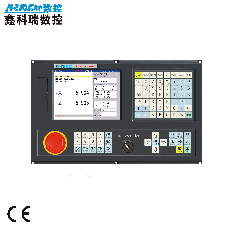 En ventas de promoción 2 ejes consola cnc adtech similar para centro de máquina de torneado CNC