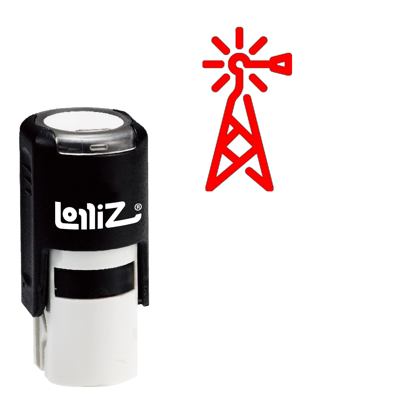LolliZ generador auto-entintado sello de goma-Serie moderna símbolo