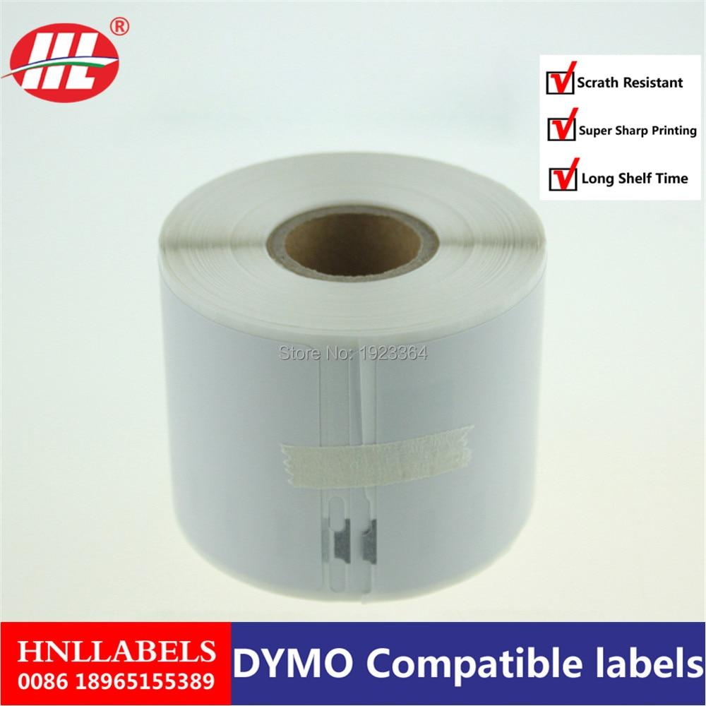 10x Dymo 99015 Compatible Label 54mm*70mm 320Pcs/Roll White Compatible for LabelWriter 450Turbo Printer Seiko SLP 440 450