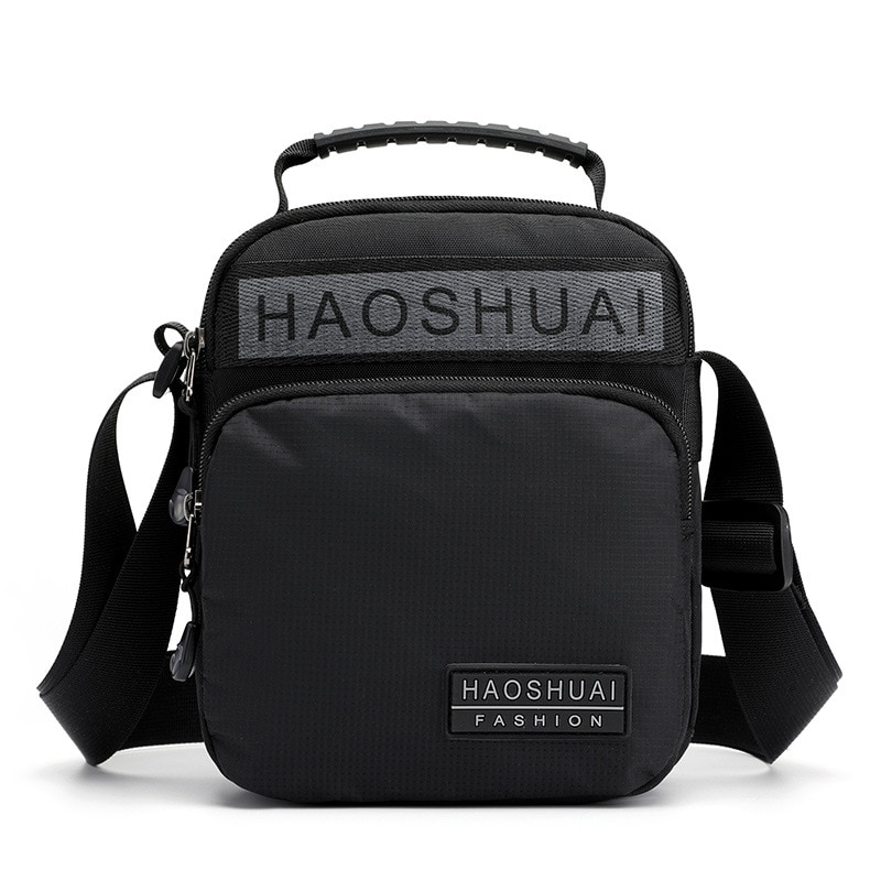 Bolso de mano de cuerpo cruzado de alta calidad para hombre, bolso militar multibolsillo, bolso de viaje, Casual, bolsas de mensajero de hombro de Nylon para hombre