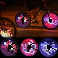 LED Bike Light Smart Lamp Double-sided Display No Battery Mountain Road Bicycle Spoke Wheel Light Mountain Bike Accessories