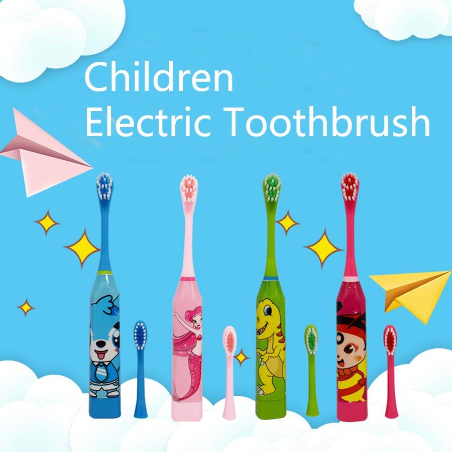 Cepillo de Dientes electrónico para niños, Cepillo de Dientes eléctrico con batería,...