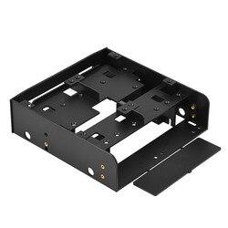Oimaster 2,5 дюйма/3,5 дюйма Hdd/Ssd до 5,25 дюйма дискеты компьютера монтажный кронштейн адаптер