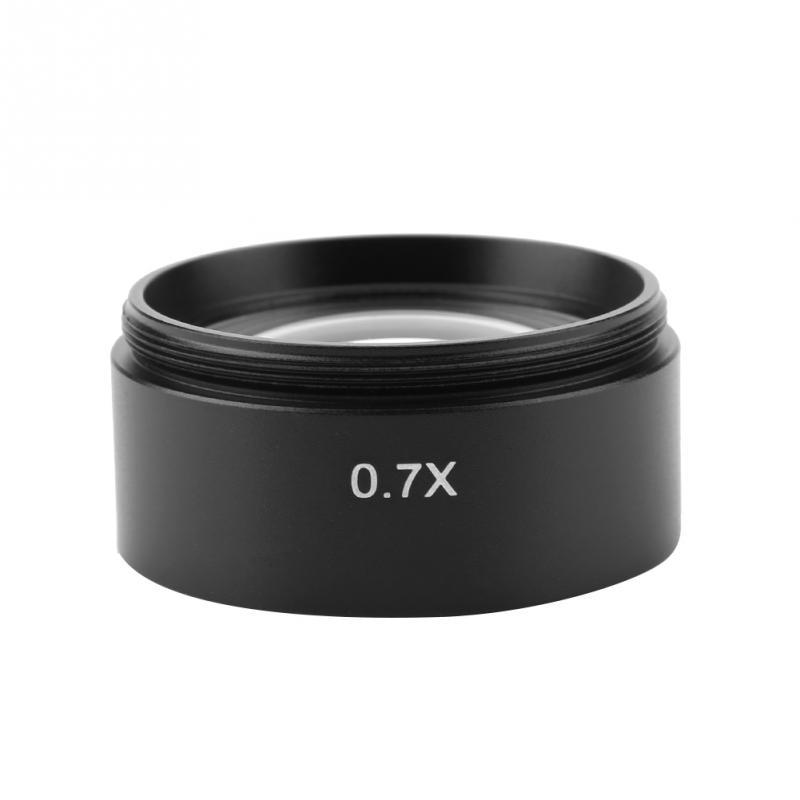 KP-0.7X Auxiliar Microscópio Da Lente Objetiva para Microscópio Estéreo 48 milímetros da Linha de Montagem