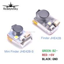 Finder JHE42B / JHE42B_S / JHE20B 5V Super Loud Buzzer Tracker 110dB w/ LED Buzzer Alarm For FPV Racing Drone Flight Controller