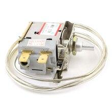 Hot sale AC 250V 6A 2 Pin Terminals Freezer Refrigerator Thermostat