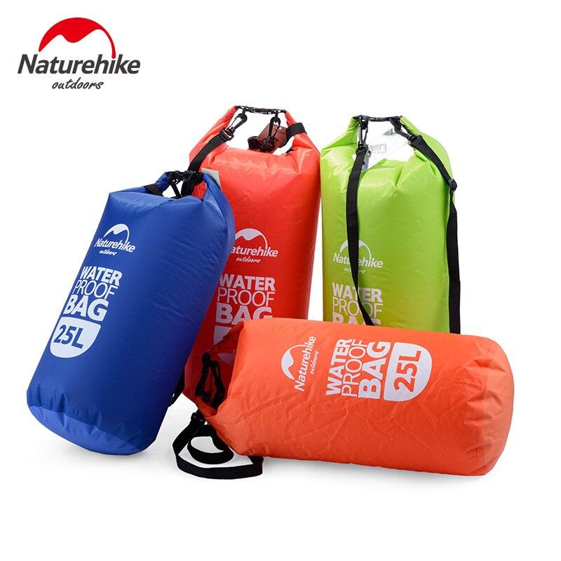 Naturehike 25L водостойкий дрейфующий мешок открытый сумка для хранения плавательных
