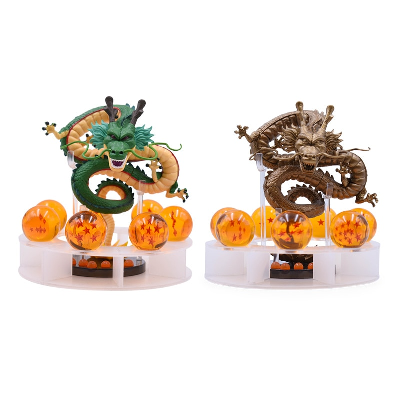 Экшн-фигурка Shenron Shenlong, 7 шт., 3,5 см, драконий шар, Z, 2 вида стилей, 15 см