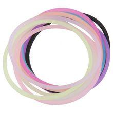 MYTL-corde à cheveux bijoux bijoux   10 x bijou de cheveux
