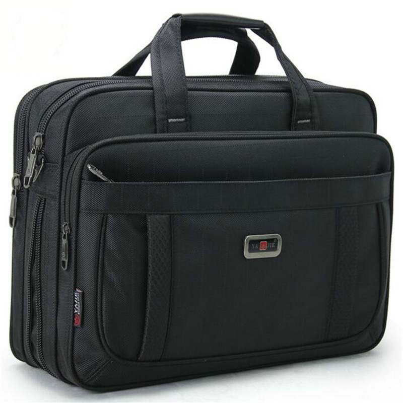 Men's Laptop Bags Large Capacity Single Shoulder Bag Fashion Business Men Briefcase Brand 15