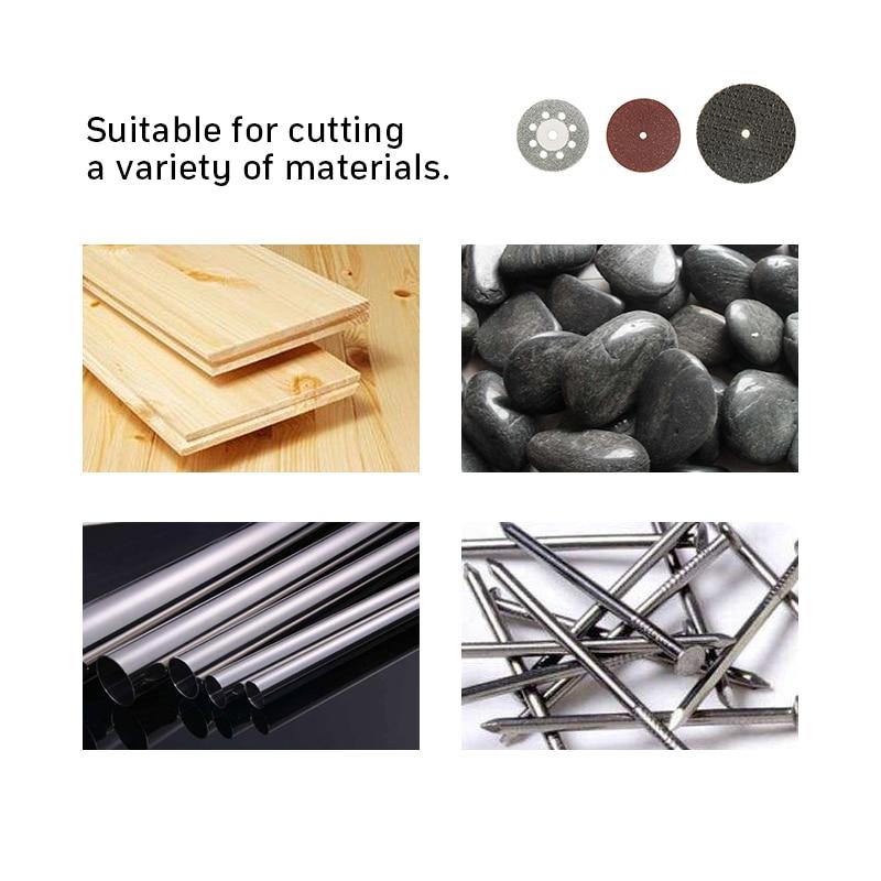 60 vnt. Deimantiniai pjovimo diskai šlifavimo šlifavimo diskas - Abrazyviniai įrankiai - Nuotrauka 5
