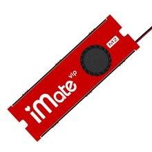 JEYI NVME NGFF M.2 radiateur de refroidissement navire de guerre iMate ventilateur SSD feuille dalliage daluminium conductivité thermique silicium gaufrette ventilateur de refroidissement