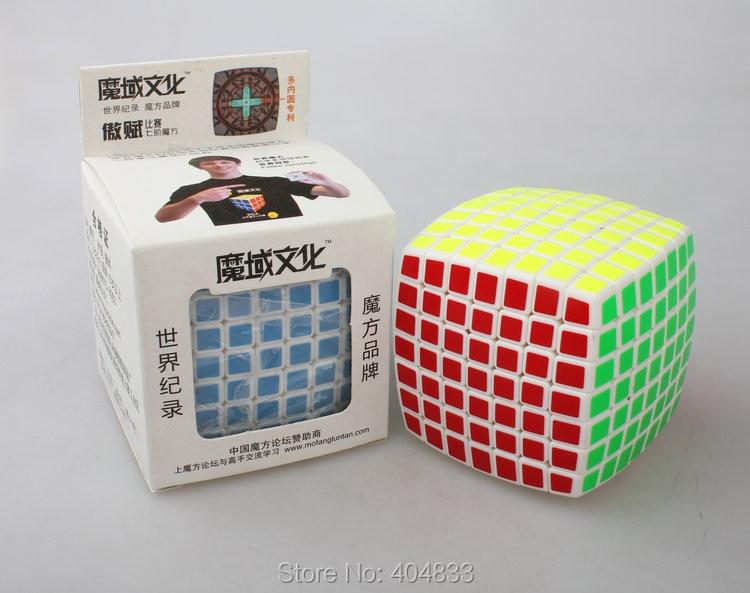 Moyu aofu 7x7 cubo branco
