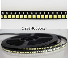 50 pièces> SMD LED 2835 5054 5730 puces 1 W 3 V 6 V 9 V 18 V 30 V perles lumière blanc 130LM montage en Surface PCB éclairage à LED Diode lampe