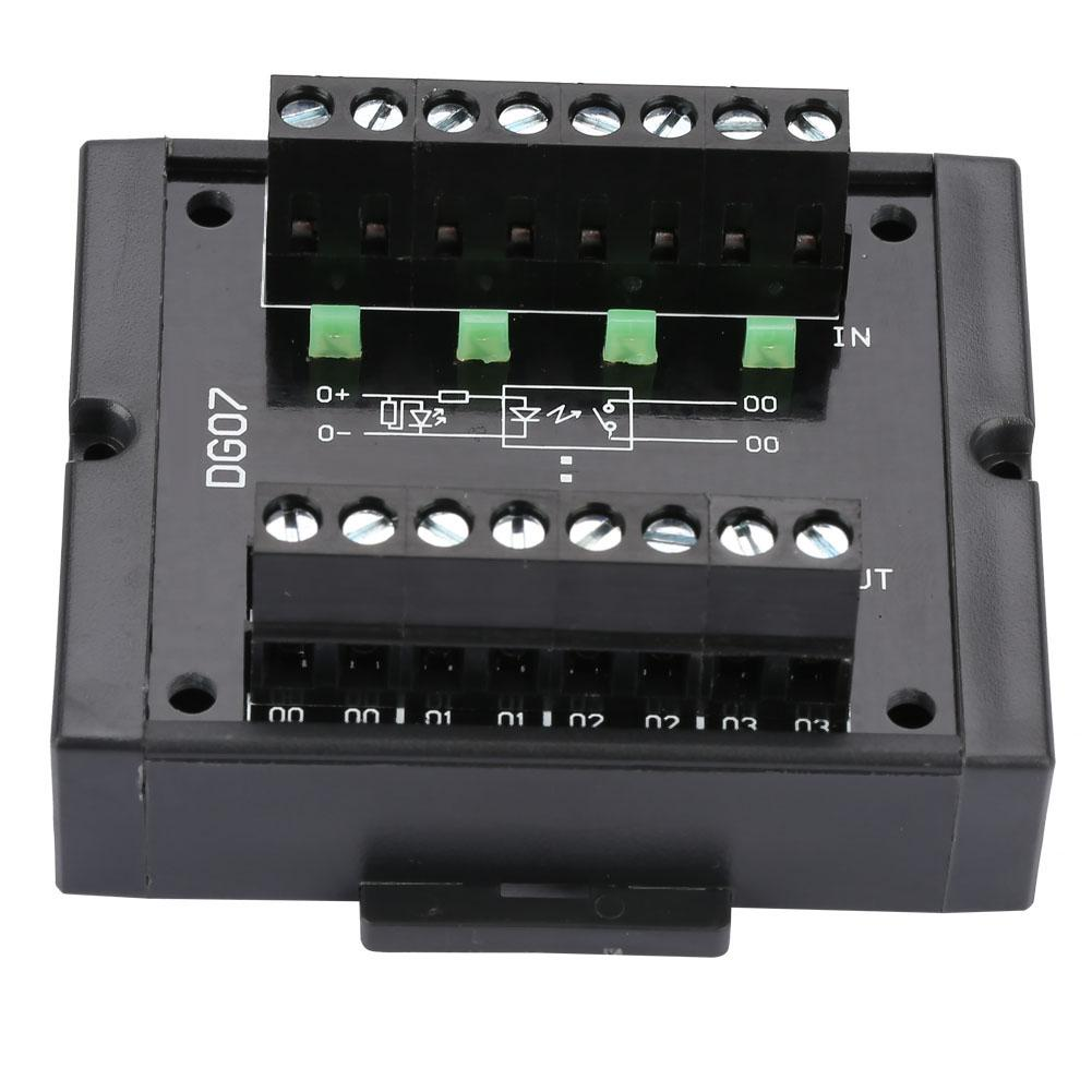 Convertidor de nivel de 4 canales NPN PNP a nivel de conversión de señal inversor gran voltaje 10-28V