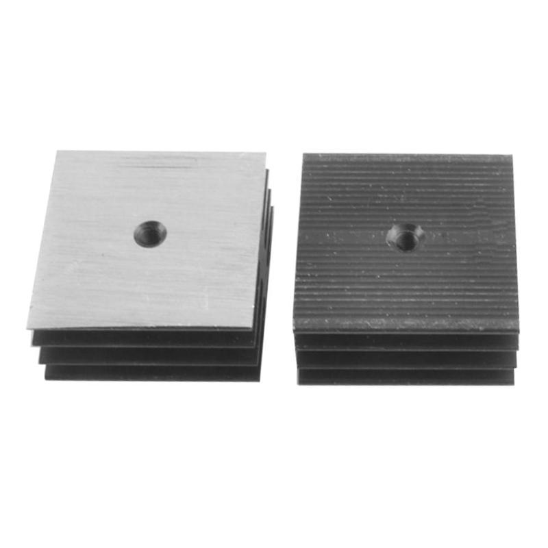 Radiador de puente rectificador KBPC disipadores de calor radiador de aluminio para puente rectificador diodo para equipo eléctrico