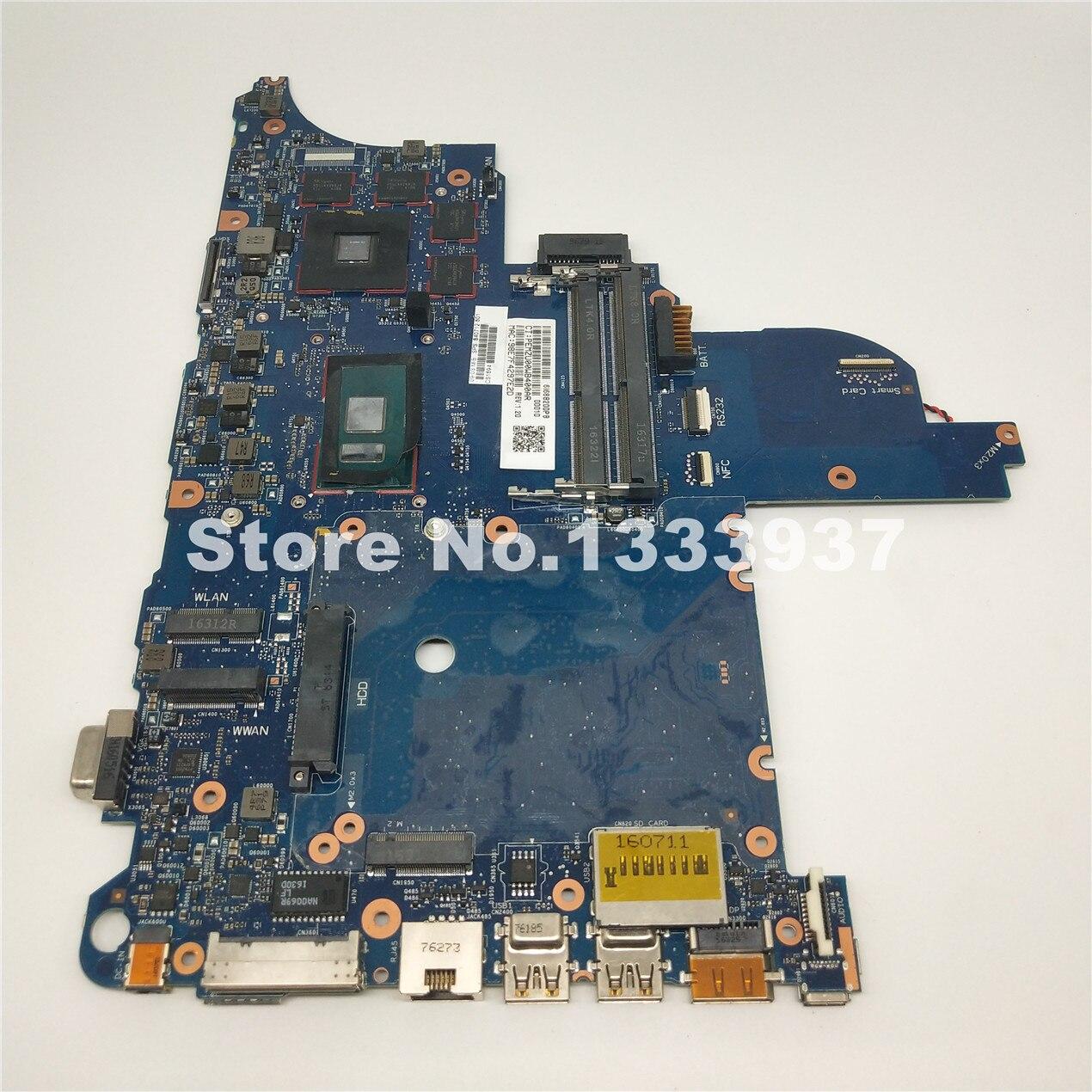 Mainboard 840712-601 840712-501 840712-001 Para HP ProBook 640 G2 650 G2 640-G2 650-G2 Laptop motherboard I5-6300U SR2F0