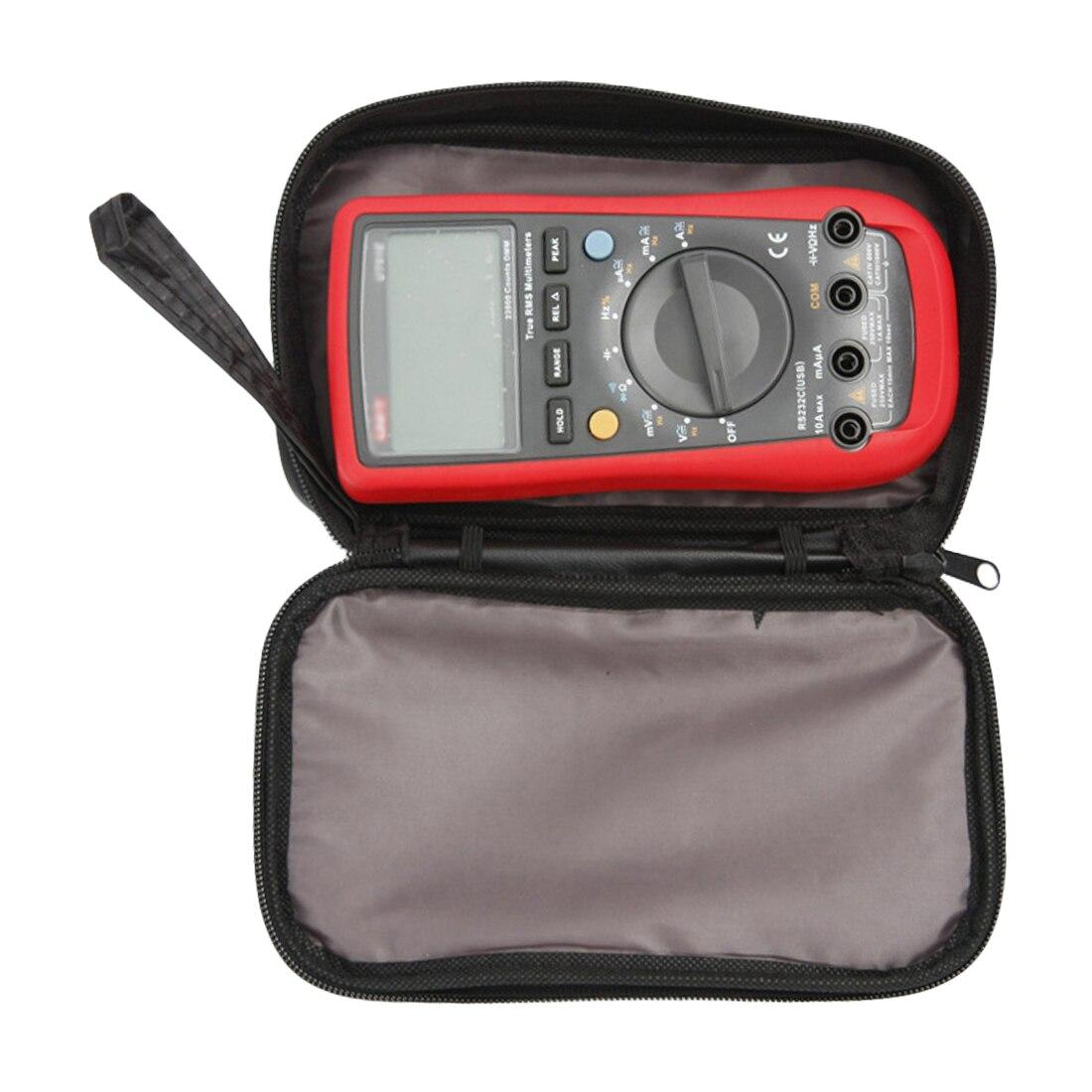 Durable 20*12*4cm Digital-Multimeter Tuch Tasche Wasserdichte Werkzeuge Tasche Multimeter Schwarz Leinwand Tasche für UT61 serie