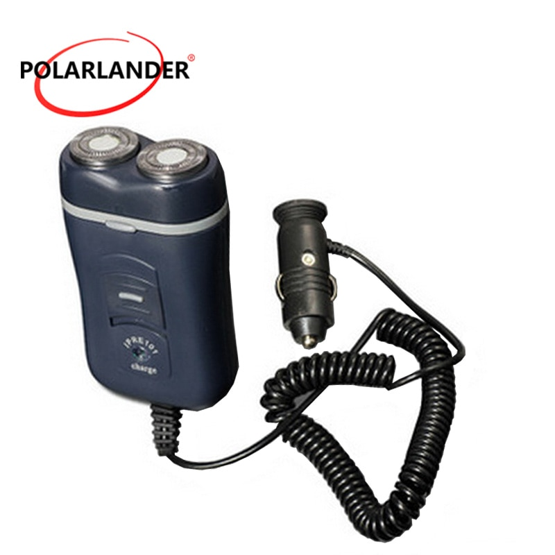 Afeitadora de coche 12 V-24 V 2W doble círculo, maquinilla de afeitar bicíclica, lámina de velocidad, nueva afeitadora eléctrica para 100% de automóviles