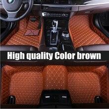 ZHAOYANHUA-tapis de sol en cuir   Tapis de voiture, personnalisés pour Chevrolet Cruze 5D, tapis lourds, doublures de sol (2009-now
