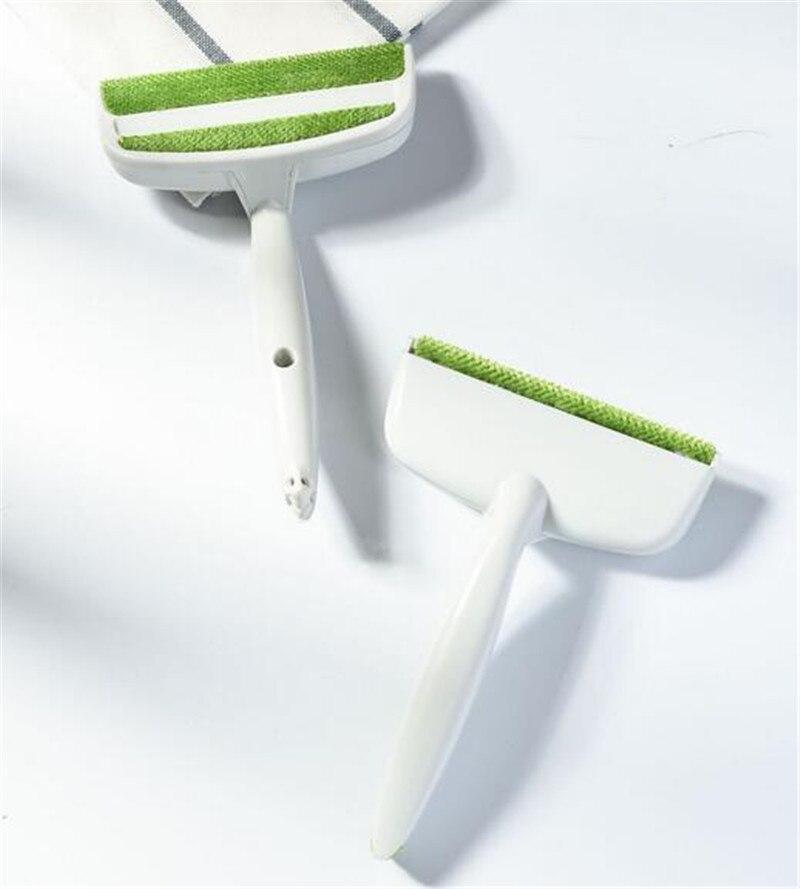 Nuevo 100 Uds 2 cabezas asiento de sofá cama Gap Car Air Outlet cepillo para limpiar conductos de ventilación removedor de polvo cepillo para eliminar polvo y pelusas removedor de pelo limpieza del hogar