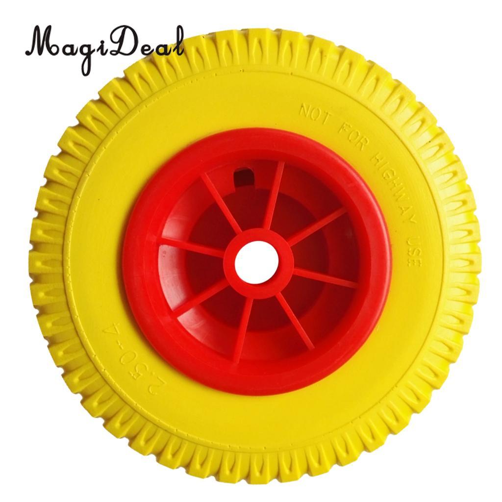 MagiDeal 1 шт. проколы резиновые шины на красном колесе для Каяка тележки 20,32 см/8 дюймов для каноэ каяк Рыбацкая лодка Dinghy Acces
