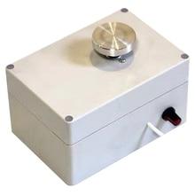 5V Usb aleación de aluminio yema del dedo Mini cerámica rueda 4,5 Cm giradiscos perilla cambio de velocidad continuo