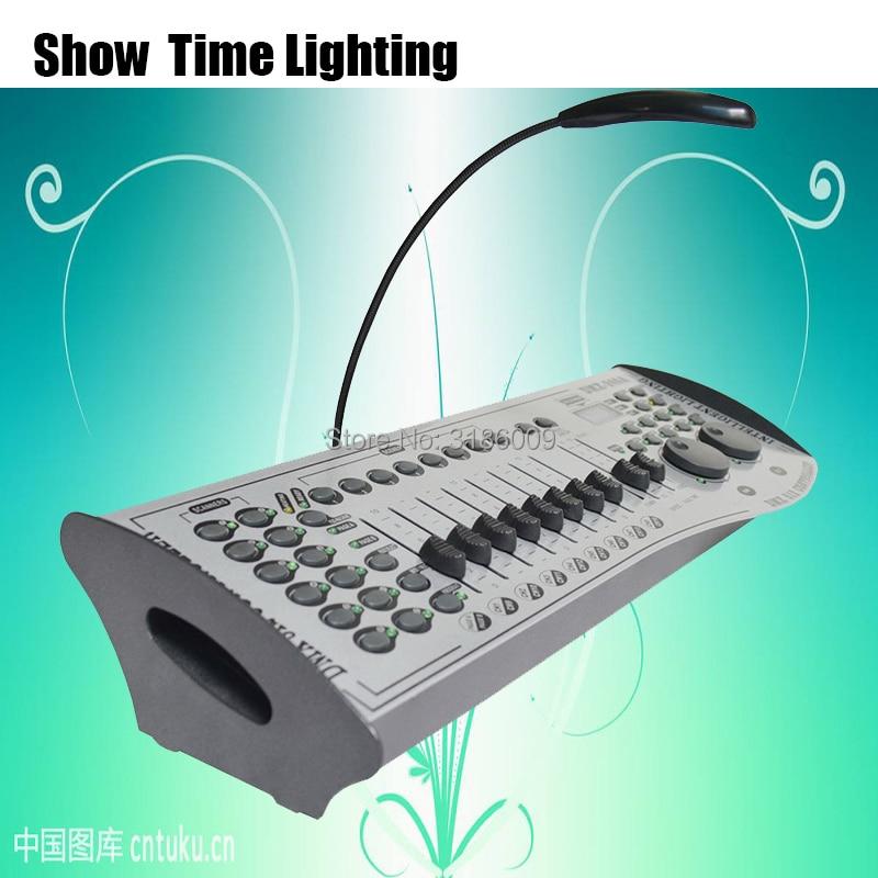Professional Stage Lighting DMX 240A Controller White body Console DJ Equipment DMX 512 Control LED Par Moving Head Showtime