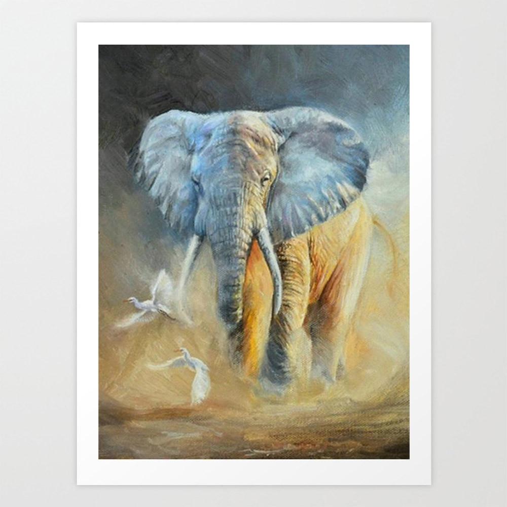 SepYue 5D pintura de diamantes de imitación cuadrado completo imágenes diamante bordado venta DIY pintura diamantes mosaico elefante