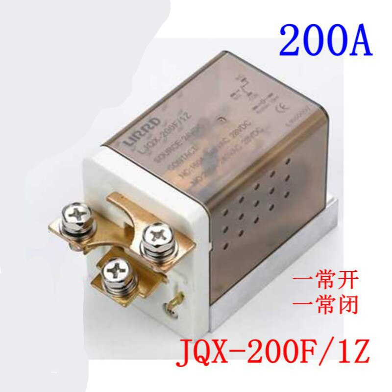 333a 189b High-power Relais Jqx - 200f / 1z Wird Strom Relais 12v 24v Ljqx - 150f