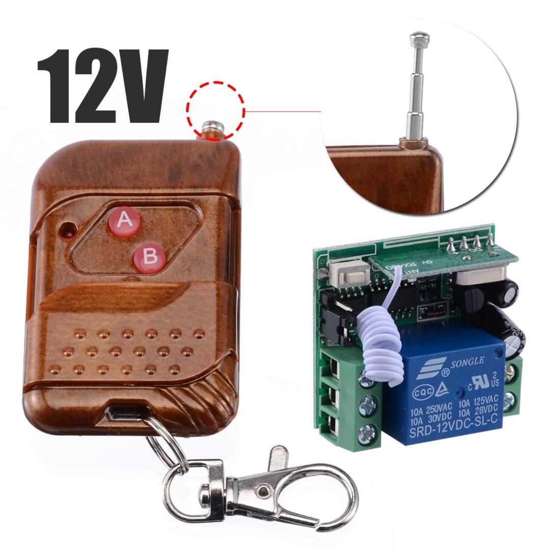 dc12v 48v wireless remote control switches wide voltage 30a relay dc 12v 24v 36v 48v receiver and digital remote controller 3key Mayitr DC 12V Professional Channel Wireless Relay Remote Control Switch Receiver Transmitter Kits Switches