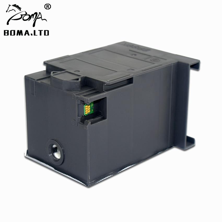 T6714 de mantenimiento del cartucho de tinta para EPSON Pro WF C8690RDTWF C8690D3TWFC C8610DWF C8190DW C8190DTW residuos tanque de tinta